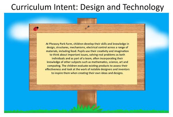 PPF - D&T - Curriculum Intent Design and