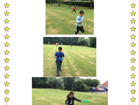 What we have been up to this week. 3S 'Sports day'