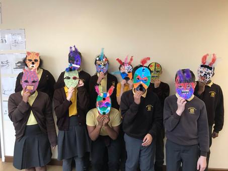 Year 6 Maya Masks