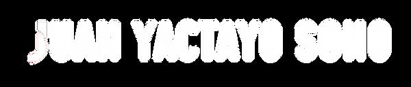 Juan Yactayo Sono - Logo Blanco.png