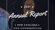 Raytown Police Department Releases 2017 Annual Report