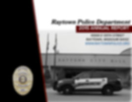 Raytown Police 2015 Annual Report Cover