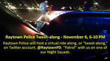 Raytown Police to Host Tweet-along November 6