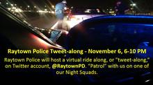 Raytown Police to Host Tweet-along November 6