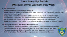 10 Heat Safety Tips for Kids Offered During Missouri Summer Weather Safety Week