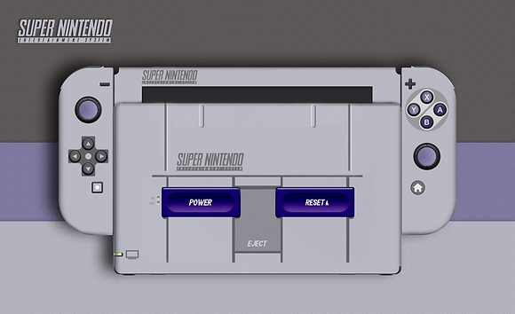 SKIN SWITCH SUPER NINTENDO