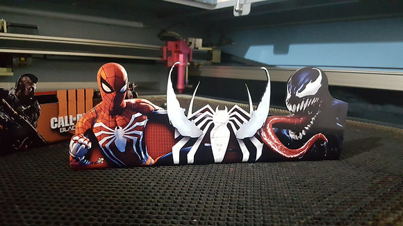 Suporte Vertical PS4/XBOX ONE SPIDER VENOM