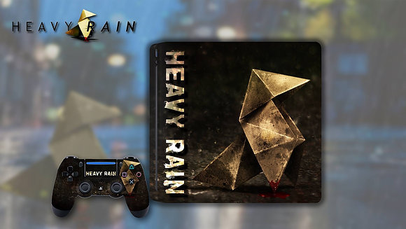 SKIN PS4 HEAVY RAIN