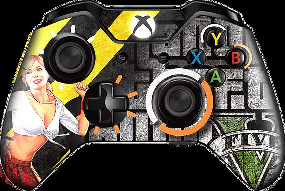 SKIN CONTROLE XBOX ONE GTA V_2