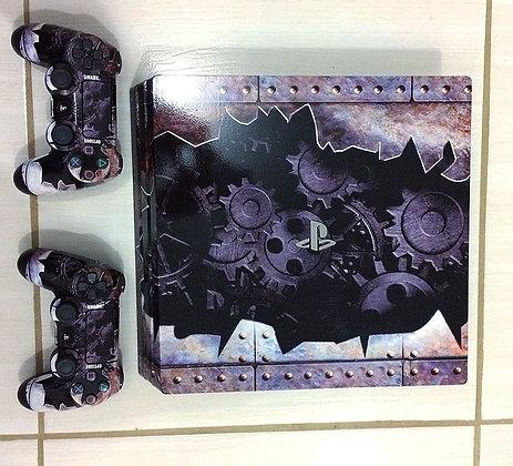 SKIN PS4 GEARS METAL