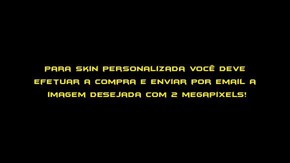 SKIN PS4 PERSONALIZADA