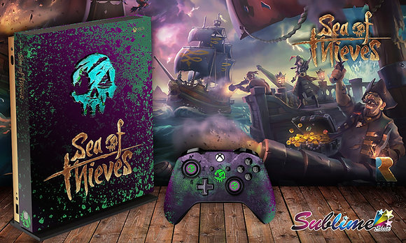 SKIN XBOX ONE SEA OF THIEVES 3D