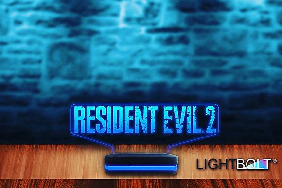 LIGHTBOLT® RESIDENT EVIL 2 LOGO