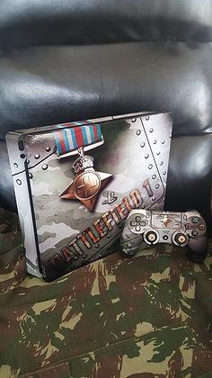SKIN PS4 PRO BF1