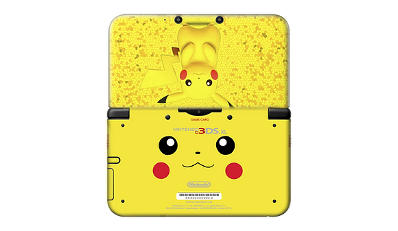 SKIN NEW 3DS XL PIKACHU