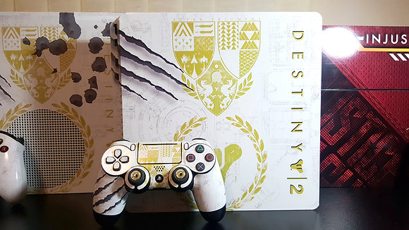 SKIN PS4  DESTINY 2