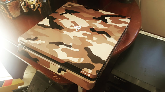 SKIN PS4 SLIM CAMOUFLAGE