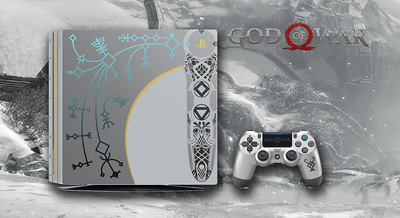 SKIN PS4 PRO GOW LIMITED EDITION