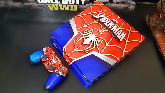 SKIN PS4 SLIM SPIDER MAN