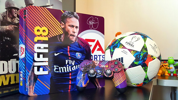 SKIN PS4 SLIM FIFA 18 SIGNATURE EDITION NEYMAR JR