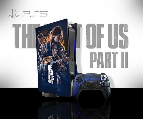 SKIN PS5 TLOU2 PERSONAGENS