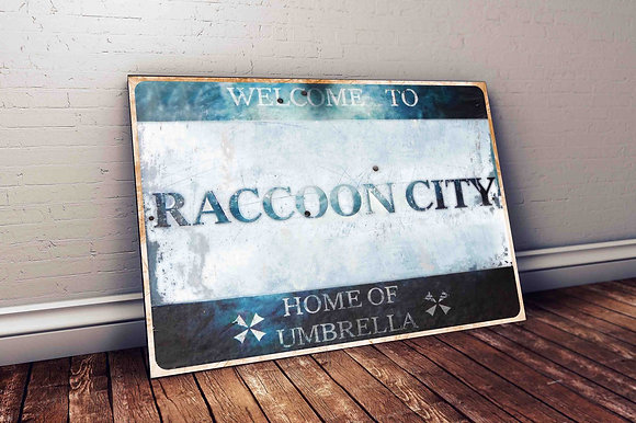 QUADRO RESIDENT EVIL RACCOON CITY