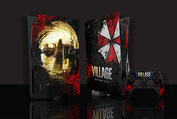 Skin PS5 Resident  Evil Village