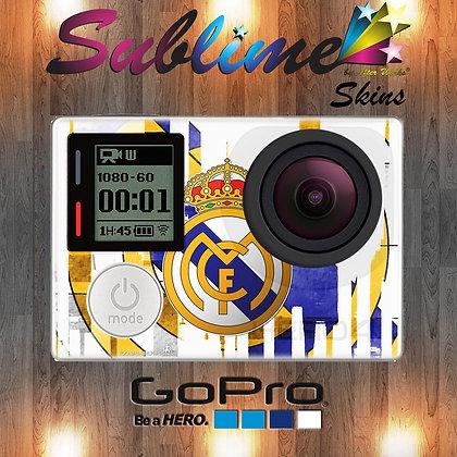 SKIN GOPRO REAL MADRID