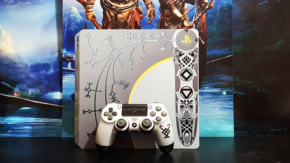 SKIN PS4 SLIM GOW LIMITED EDITION