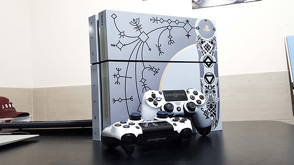 SKIN PS4 FAT GOW LIMITED EDITION