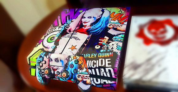PS4 SUICIDE SQUAD HARLEY