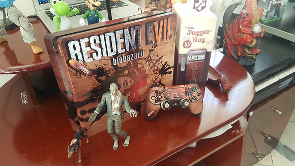 PS4 RESIDENT EVIL 7 WOOD EDITION