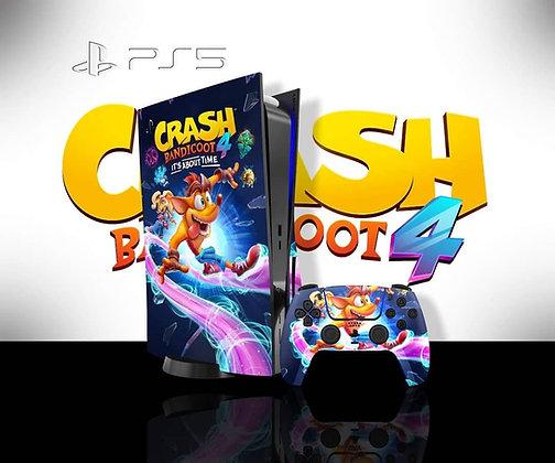 SKIN PS5 CRASH