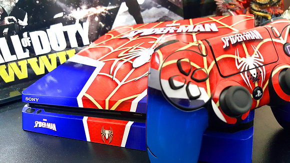 SKIN PS4 FAT SPIDER MAN