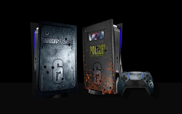 Skin PS5 RAINBOW SIX