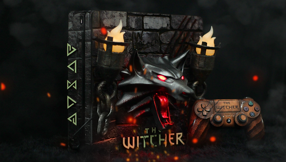 Personalização THE BEAST PS4 THE WITCHER