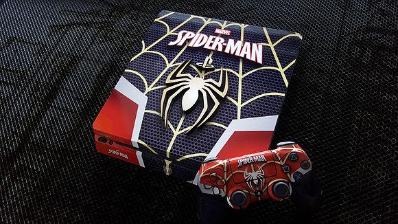SKIN PS4 SPIDER-MAN BLACK 3D