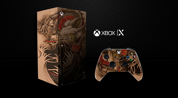 SKIN XBOX SERIES X Old Dragon