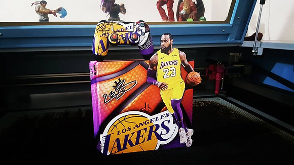 SKIN PS4 L.A. Lakers THE KING Edition 3D