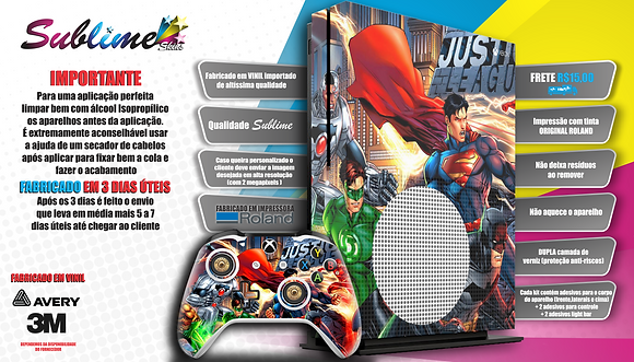LIGA DA JUSTIÇA XBOX ONE S
