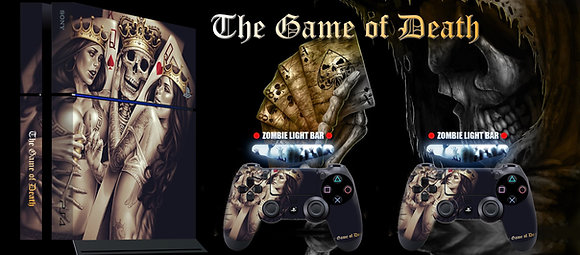 SKIN PS4 THE GAME OF DEATH