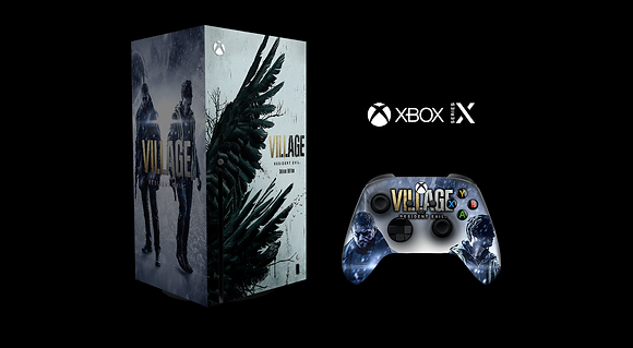SKIN XBOX SERIES X RESIDENT EVIL 8 LIMITED EDITION