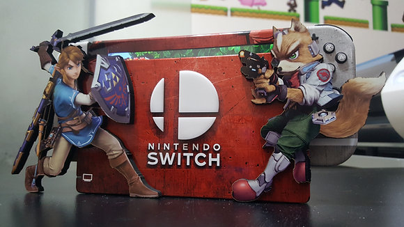 SKIN SUPER SMASH BROS 3D Nintendo Switch