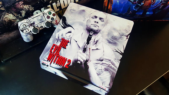SKIN PS4 PRO THE EVIL WITHIN 2