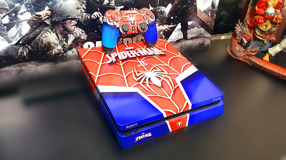 SKIN PS4 PRO SPIDER MAN