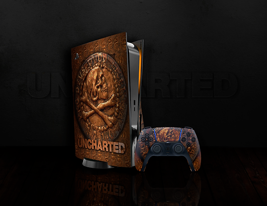 SKIN PS5 UNCHARTED