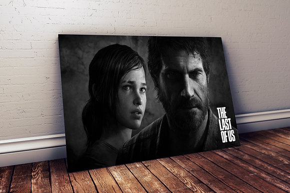 QUADRO TLOU BLACK AND WHITE