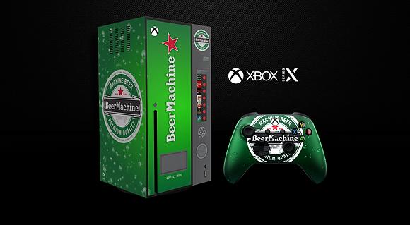 SKIN XBOX SERIES X BEER MACHINE