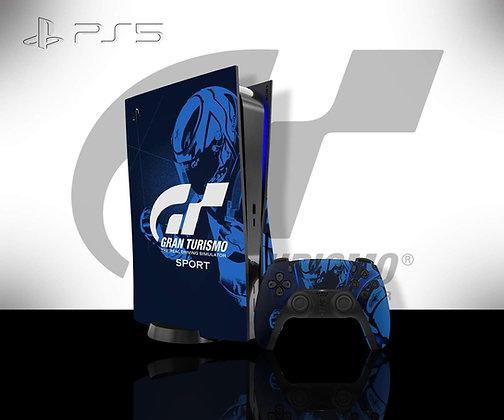 SKIN PS5 GT BLUE