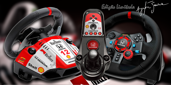 Skin FULL Senna Limited  Edition G25/G27/G29/G920/G923